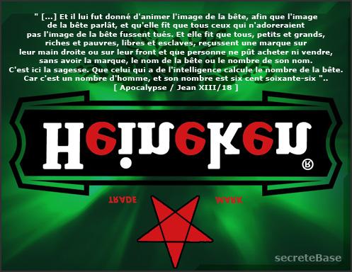 666 la marca de la bestia en el código de barras? Heineken