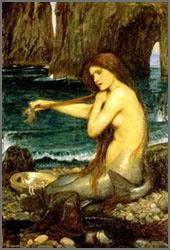 Cours théorique N°1: Les Sirènes (illustrations) Watherhouse