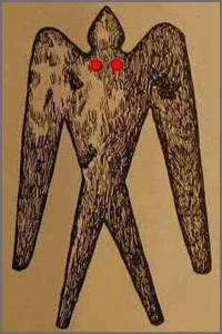 Le Mothman, l'homme-phalène de Virginie reste une énigme Mothman02
